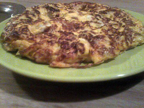 recette omelette au pomme de terre