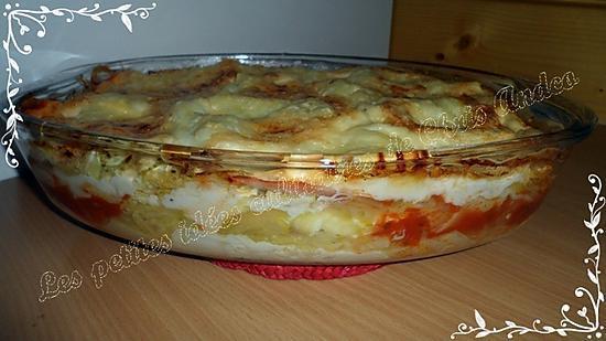 recette Lasagnes courgettes / jambon