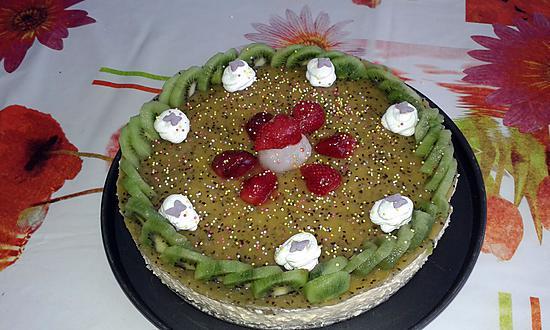 Recette de bavarois fruit exotique et son miroir kiwi for Miroir exotique