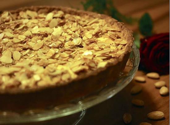 recette Tarte aux pommes croustillante à la créme cannelle