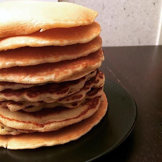 recette de pancakes de cyril lignac. Black Bedroom Furniture Sets. Home Design Ideas