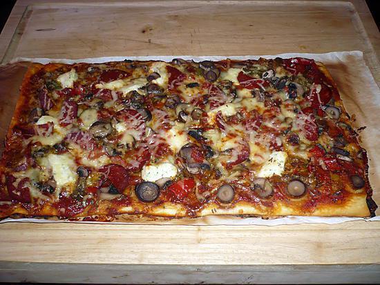 recette Pizza royale