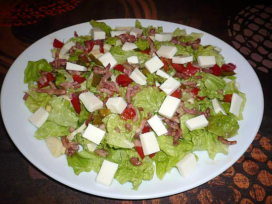 Recette de salade compos e par vece helena - Salade verte composee ...