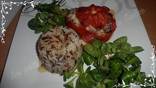 recette Tomates farcies fondantes et moelleuses