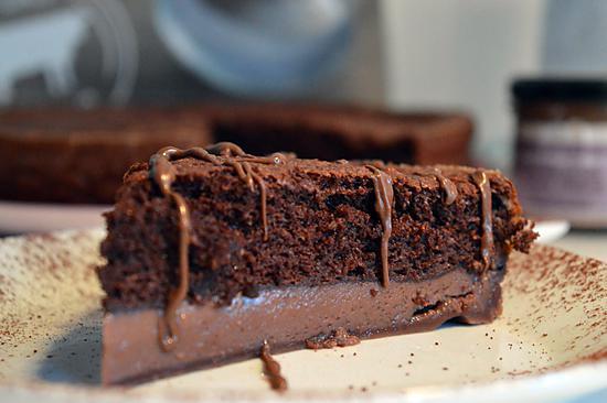 recette de gâteau magique et pétillant au chocolat par choupette two