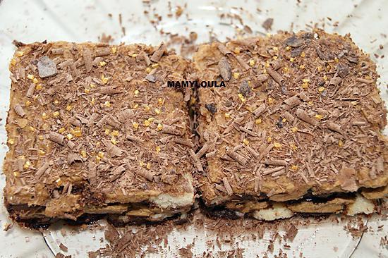recette Gâteau chocolat/café