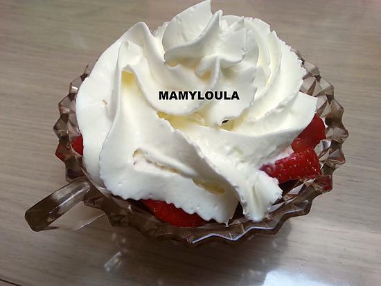 recette Mousse au chocolat à l'Itallienne et kiwis ou fraises