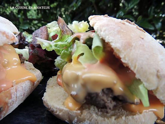recette Hamburger et pain hamburger maison