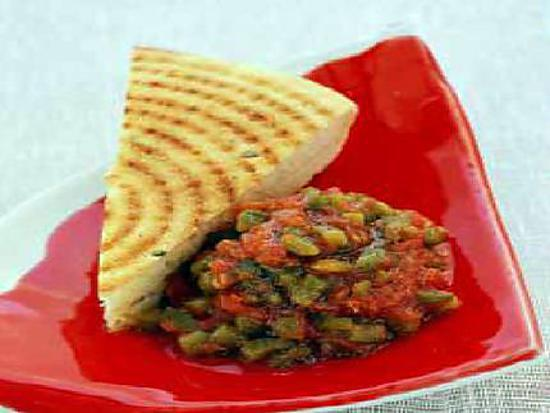 recette Salade de légumes grillés