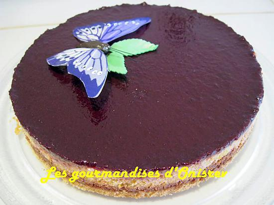 recette Cheese-cake chocolat, orange
