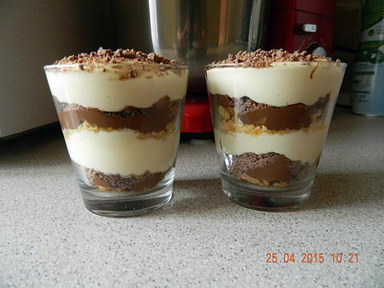 recette de verrines tiramisu crunch nutella. Black Bedroom Furniture Sets. Home Design Ideas