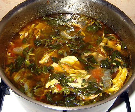 Recette de romazava de poulet recette malgache - Cuisine plus fr recettes ...
