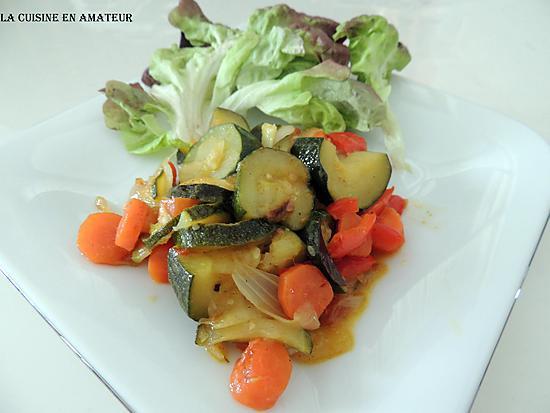 recette Poêlée de légumes