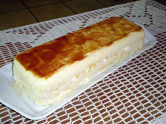 recette Vacherin glaçé,meringué à la vanille