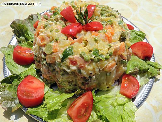 Recette de salade russe de ctlina - Cuisine traditionnelle russe ...