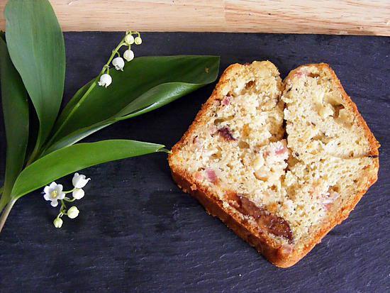 Recette Cake Lardons Pruneaux De Sophie