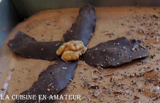 recette Feuilles en chocolat