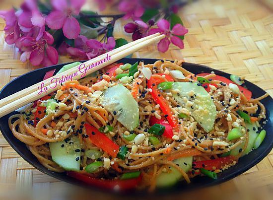 recette Salade Thaï aux Nouilles Soba