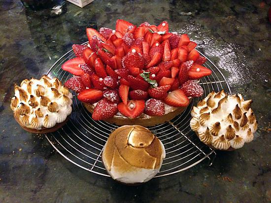 recette Tartes au fraises
