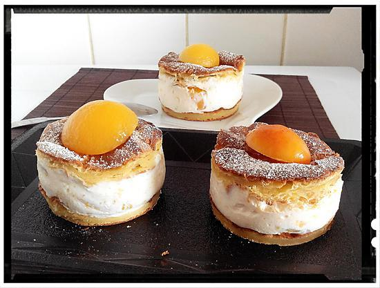 recette tranches de choux ricotta-abricot