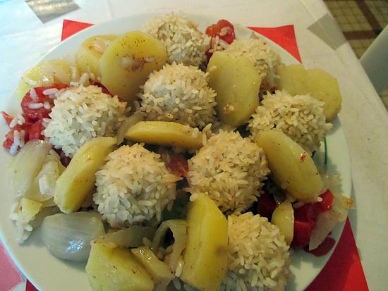 recette Défi boulette 2 - tagine de poulet hérisson