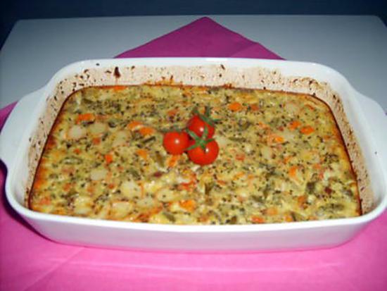 recette Terrine saumon fumé/surimi/légumes