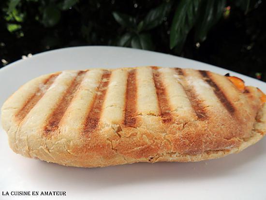 recette Pain à panini à la map
