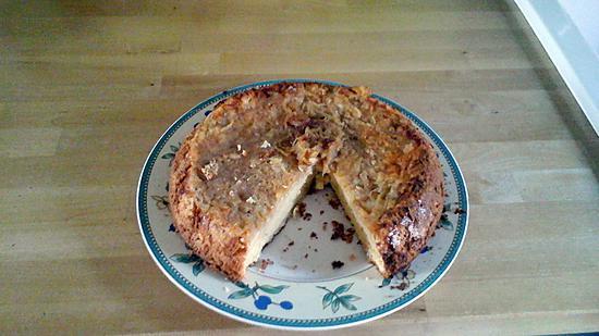 recette gâteau aux pommes râpées sans gluten