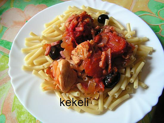 recette Mijoté aux tomates et au basilic