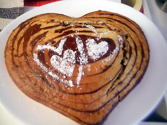 Recette de g teau coeur d 39 amour z br for 1 amour de cuisine