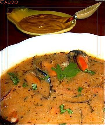 recette Soupe aux moules