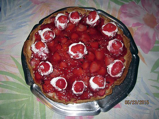 Recette de miroir aux fraises for Miroir aux framboises