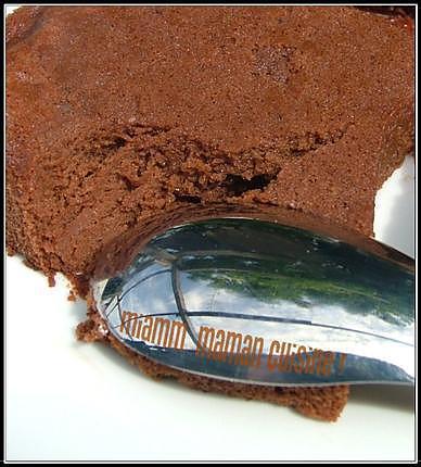 recette Gâteau mousseux au nutella, sans beurre