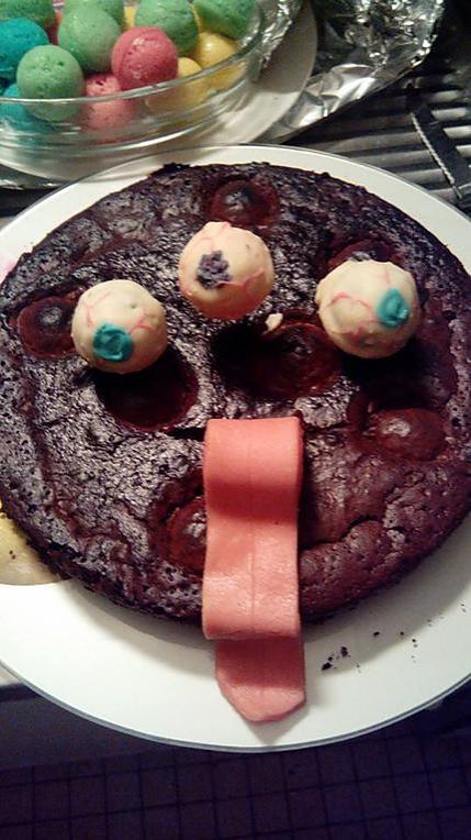 recette Gâteau d'Halloween