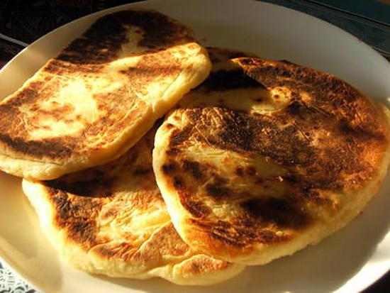 recette Cheese naan qui rit (kiri kiri) à la pOpO