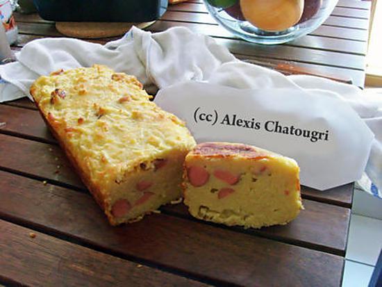 Recette Cake Au Jambon Revisit Ef Bf Bd