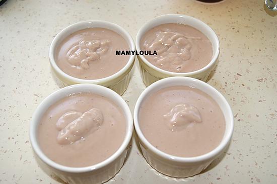 recette Crème à la fraise