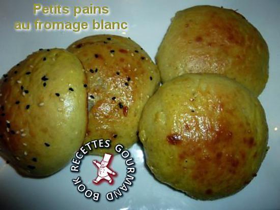 recette Petits pains au fromage blanc et au yaourt