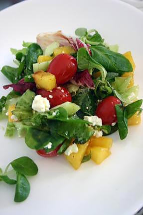 recette Salade de Nectarine et de Peche