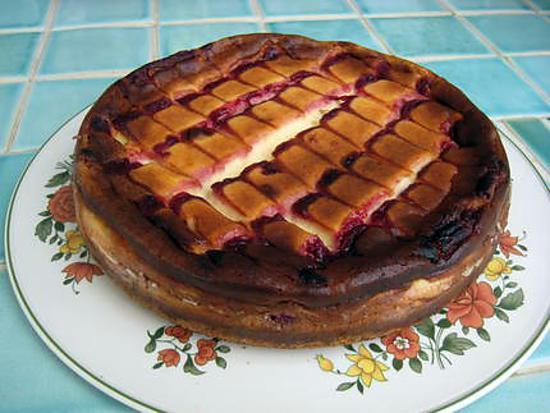 recette de cupidon cheesecake chocolat blanc framboises. Black Bedroom Furniture Sets. Home Design Ideas
