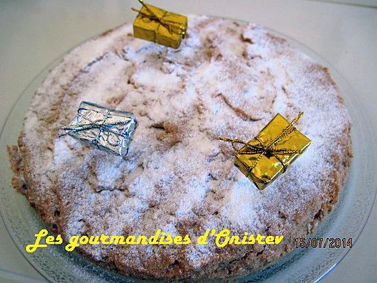recette Gâteau léger aux blancs d'œufs
