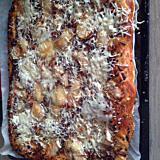 recette pizza steak-haché cammembert