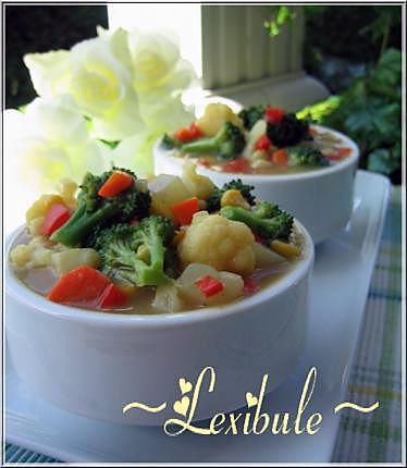 recette Chaudrée de légumes extra maïs