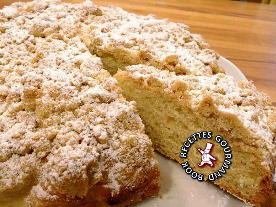 recette Gâteau streusel alsacien