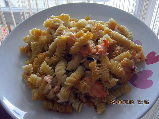 recette de gratin de p 226 tes au saumon frais