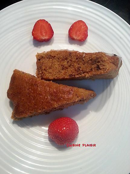 recette Gâteau 'énergie' aux fruits secs et citron
