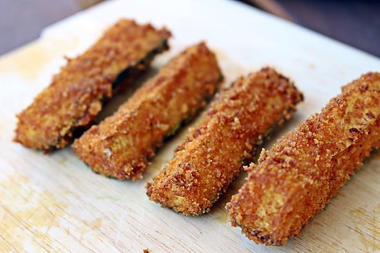 recette Frite de Courgette