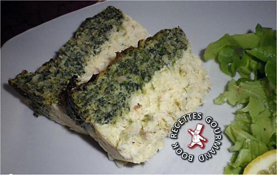 recette Terrine de poisson aux épinards