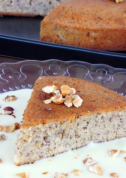 recette Gâteau creusois aux noisettes
