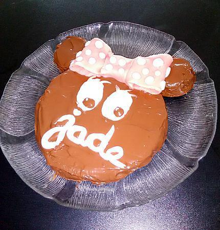 recette Gâteau Minnie de ma cousine